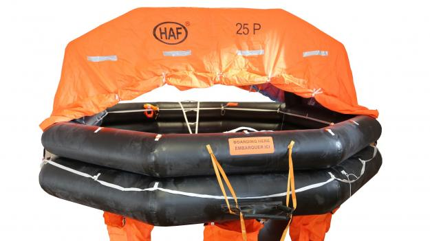 THROWOVER SOLAS A & B LIFERAFTS